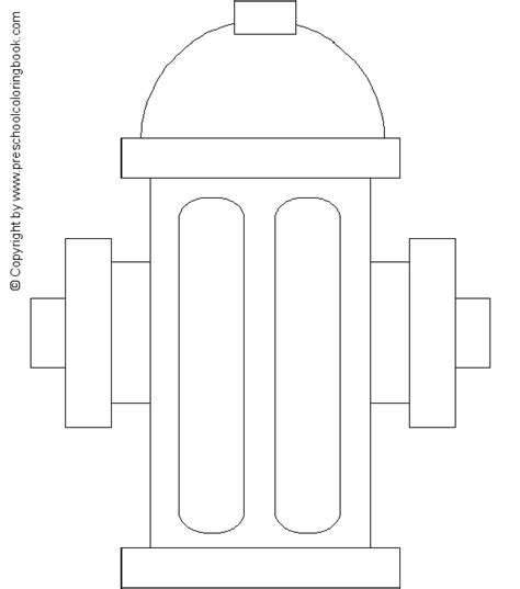 fire hydrant coloring page free coloring pages of fire