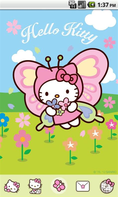 themes hello kitty 5320 hello kitty butterfly theme app ranking and store data