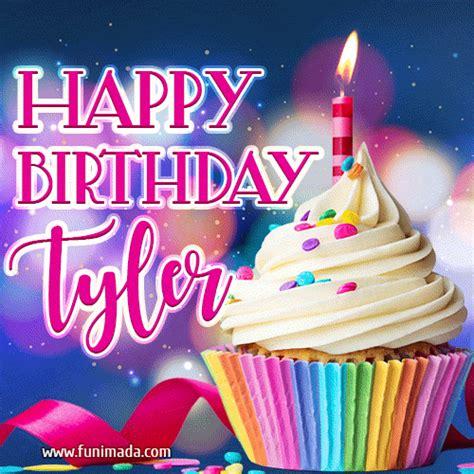 happy birthday tyler lovely animated gif