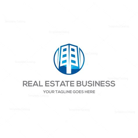 templates for business logos real estate business logo template 000198 template catalog