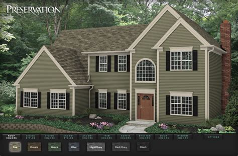 virtual home design siding siding design showcase american weather techs