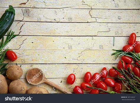 vegetable garden food fresh organic vegetables food background healthy stock