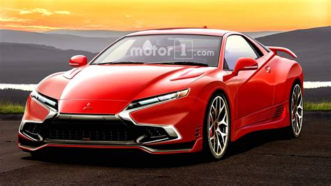 mitsubishi 3000gt mitsubishi 3000gt rendered as if it were alive today
