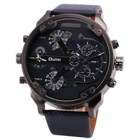 Jam Tangan The Leather Brown Black oulm jam tangan analog leather 3548 black jakartanotebook