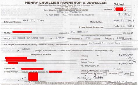 pawn shop receipt template how to pawn your jewelry in henry lhuillier pawnshop