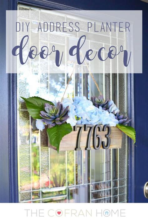 home decor address address plaque rustic home decor