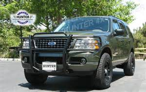 Ford Explorer Brush Guard 02 05 Ford Explorer 4dr Grill Brush Guard Grille Black Ebay