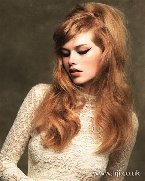 how to do sixties hairstyles strawberry blonde long sixties style hair hair