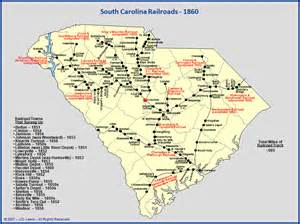 south carolina railroads 1860