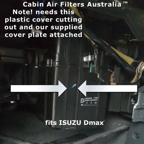 2011 Isuzu D Max Cabin cabin air filters isuzu dmax cabin air filter 2008 2011