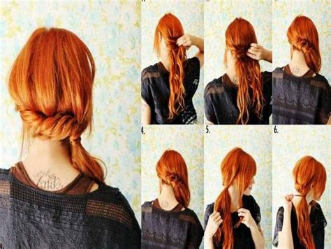 step by step easy updos for thin hair easy hairdos for long hair step by step hair styles