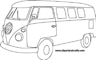 vw bus coloring pages coloring pages