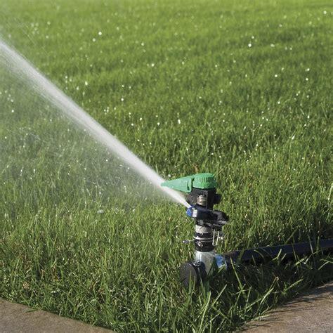 Sprinkler Rainbird Plastic Impact Sprinklers 48h p5rlsp plastic impact sprinkler on hose end spike