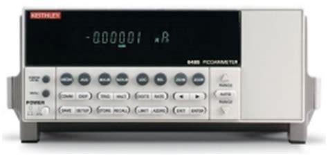 low current pico amp meter 5.5 digit keithley 6485
