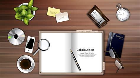 Office Desk Wallpaper Digital Office Supplies Desktop Backgrounds Widescreen And