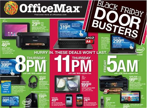 Officemax Ad Office Max Black Friday Ad 2013