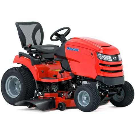Garden Tractors by Simplicity Conquest Syt500 Garden Tractor With Striping