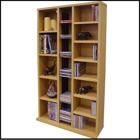 cd dvd media storage tower shelf unit shelves rack stand