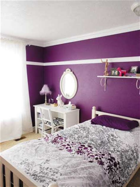 purple bedroom white furniture a teen room remodel before after storypiece
