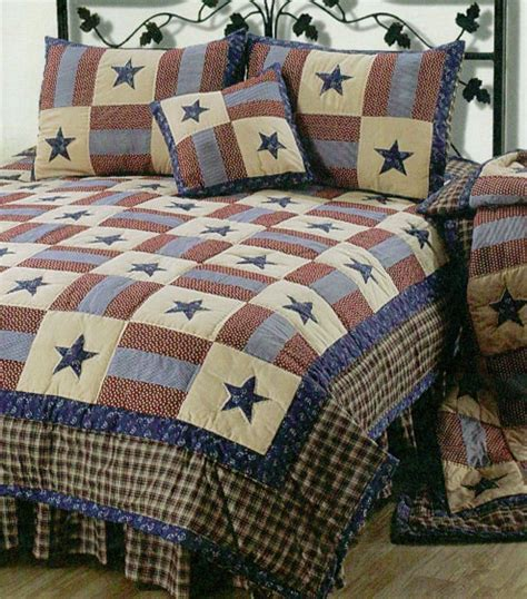 Americana Country Quilts by Americana Bedding Primitive Bedding