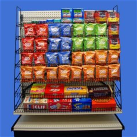 Snack Rack by Wire And Snack Racks Can Increase Your Sales