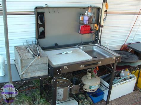Outdoor Camp Kitchen ALL ABOUT HOUSE DESIGN : Make a Folding Camp Kitchen