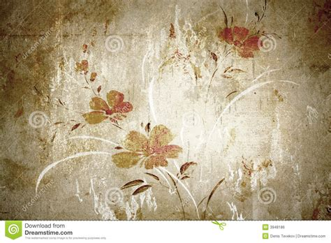 Vintage Flower L by Photo Collection Flower Vintage Wallpaper Royalty
