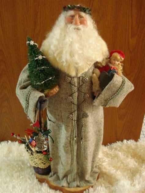Handmade Santas - one of a handmade santa santa