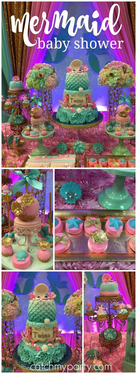 Baby Themes For Baby Shower by Best 25 Mermaid Baby Showers Ideas On Mermaid