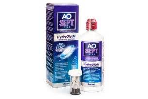 aosept plus with hydraglyde 360 ml with case | lentiamo.co.uk
