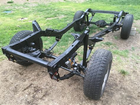 Jeep Wrangler Chassis Jeep Yj Wrangler Chassis Leaf Combos Sum Csumsrj001