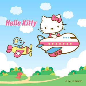 facebook hello kitty themes apk hello air travel theme for android