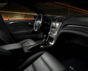 2007 acura tl type s interior and dashboard