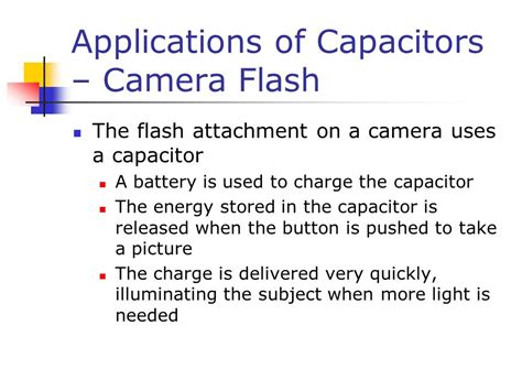 applications of capacitor application xerographic copiers ppt
