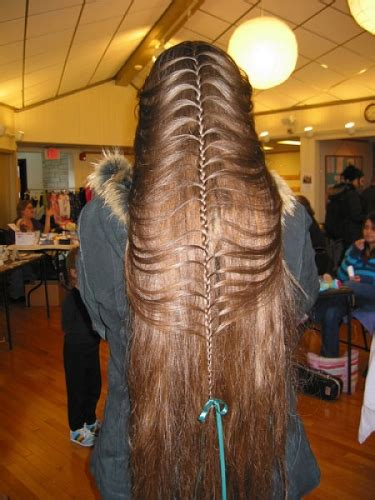 anorak news long hair women    long hair