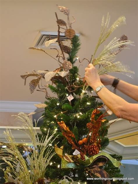 best christmas tree fillers how to step by step designer s tree decorating trees worthing and a tree