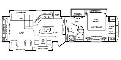 drv mobile suites floor plans 2014 drv mobile suites estates fifth wheel series m 38rsb3