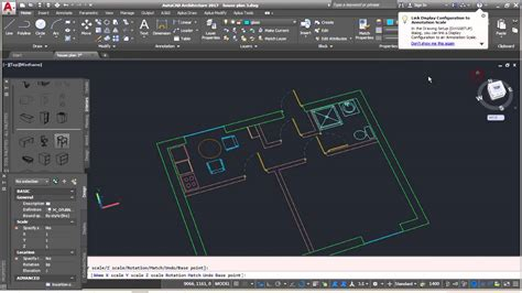 autocad architecture complete floor plan part  adding