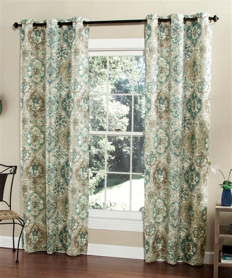 teal curtain teal ali baba curtain panel set of two