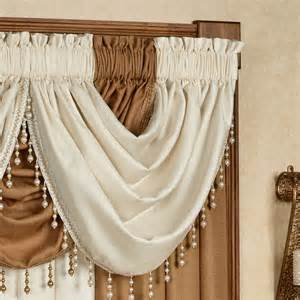 waterfall valance leigha waterfall valance 47 x 37 touch of class