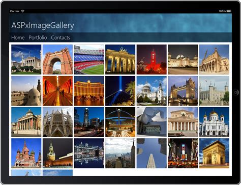 online photo gallery layout new asp net image gallery control coming soon in v2013