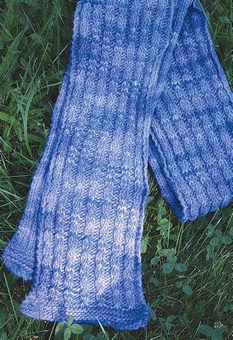 knitting pattern wool scarf malabrigo mock cable scarf pattern medium weight yarn