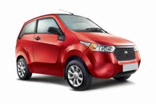 Electric Cars In India With Price Mahindra Reva E2o Living With India S Most Modern