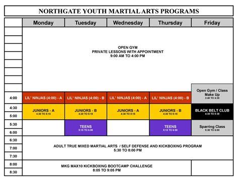 mkg seattle martial arts class schedule 206 789