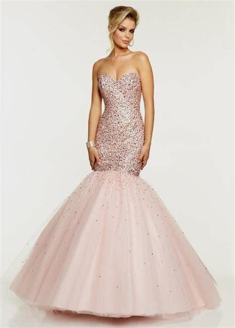 blush colored prom dresses blush colored mermaid prom dress naf dresses