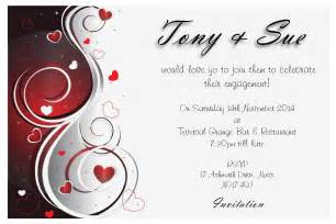 engagement invitations template engagement invitation idea invitation templates