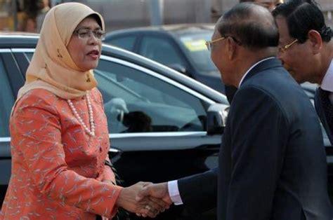 biography of halimah yacob singapore parliament speaker halimah yacob to contest in