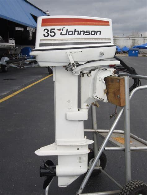 Maintaining Johnson Evinrude 35