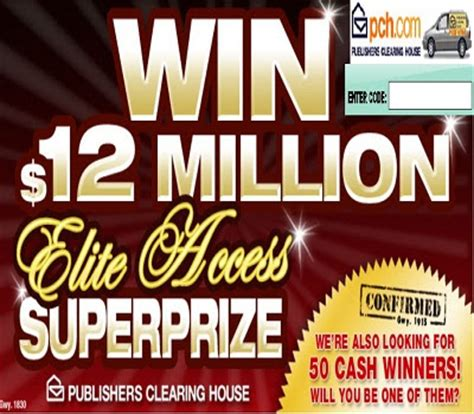 Pch Superprize - pch com w73 enter to win 12m super prize