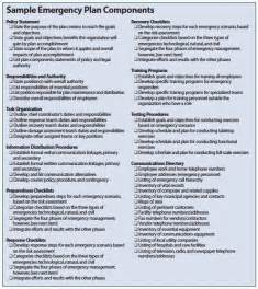 emergency preparedness plan template themesclub net